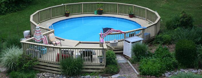 Can above ground swimming pools have salt water