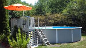 Round Above Ground Royal Swimming Pools