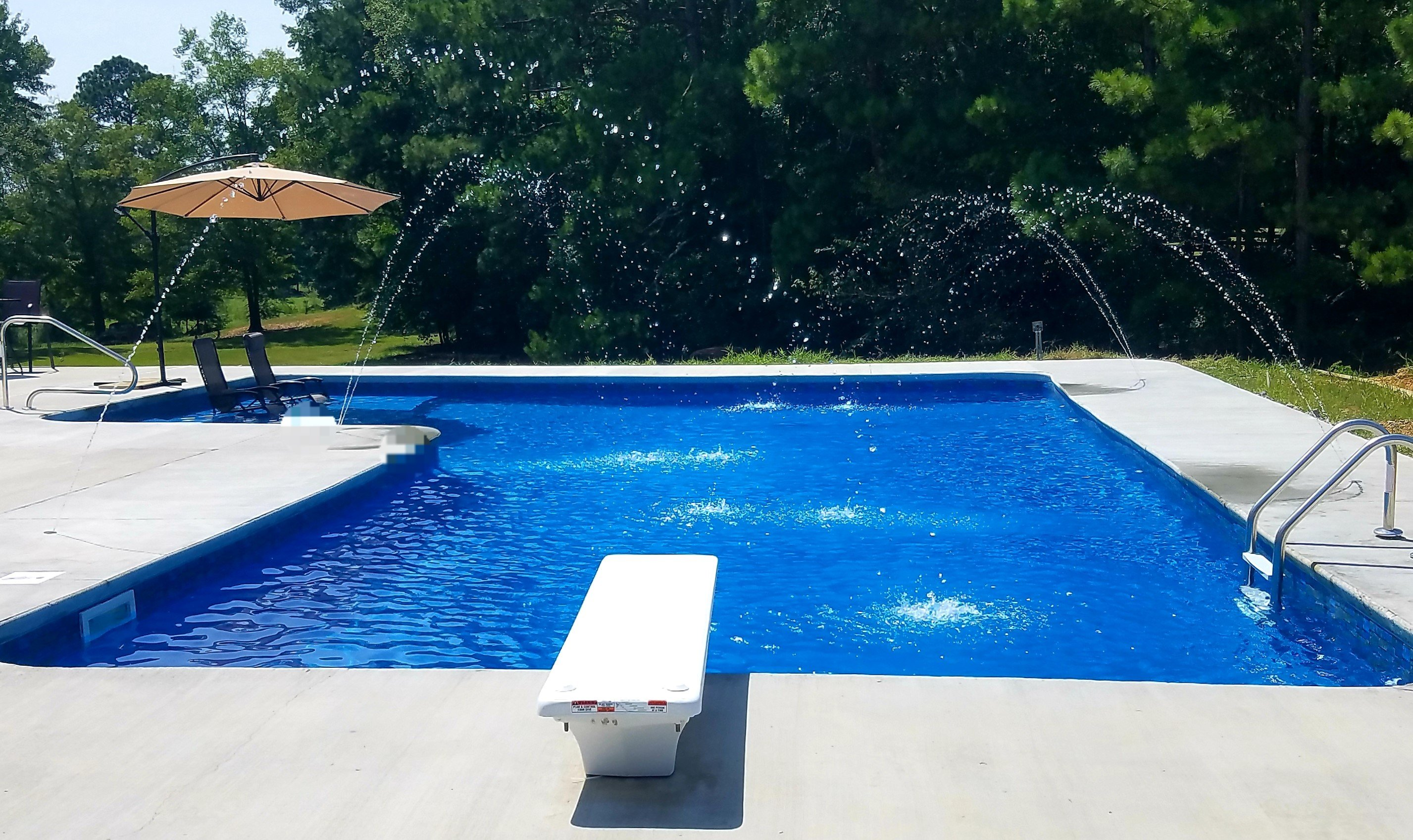 How To Safely Design A Diving Board Pool