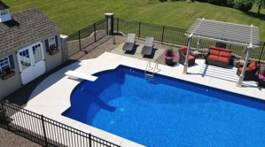 Pool Deck and Patio Space
