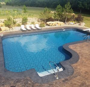 Saltwater swimming pool care