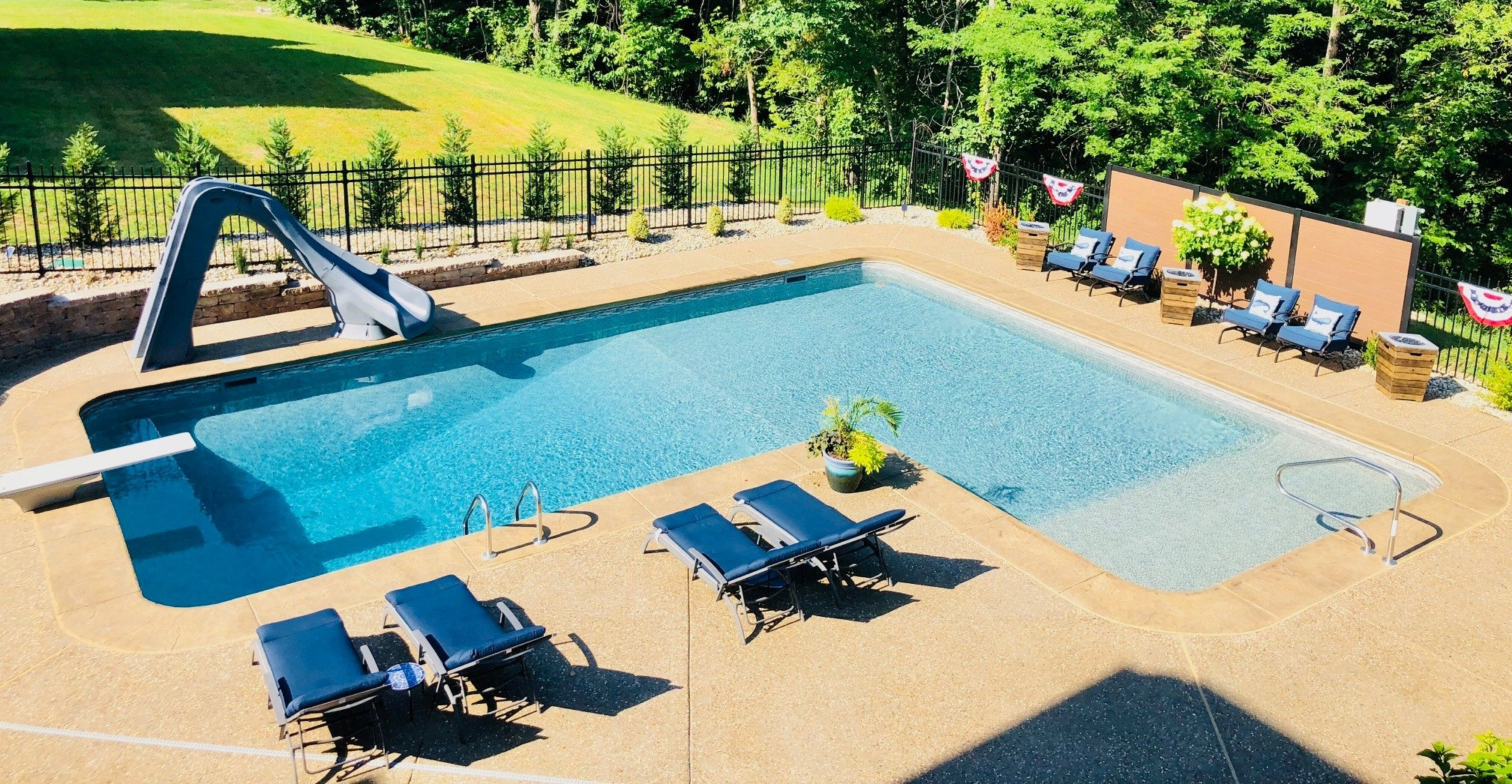 How to design your swimming pool deck or patio