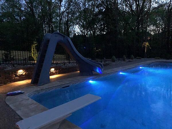 Swimming Pool Lighting from Royal Swimming Pools