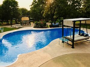 swimming pool patio and decking advice