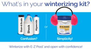 Easy pool winterization