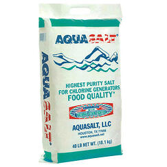 aqua salt for saltwater swimming pool maintenance