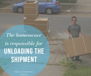 The Homeowner Is Responsible for Unloading