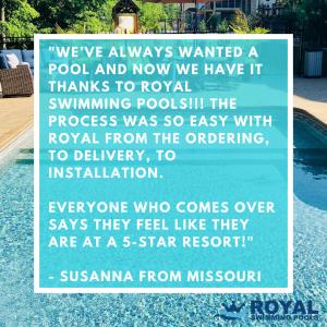 Winning Swimming Pool Photo Quote