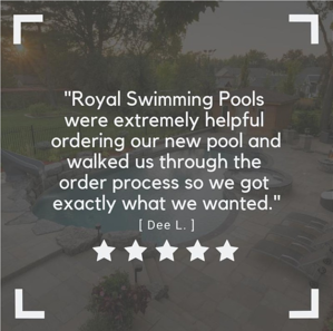 Royal Swimming Pools-customer quote3