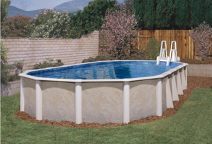 Oval Above Ground Royal Swimming Pools