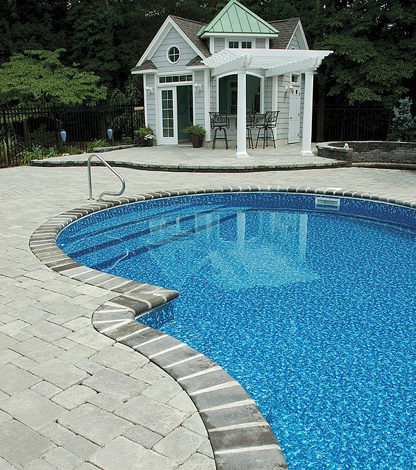 Royal Swimming Pools Vinyl Over step