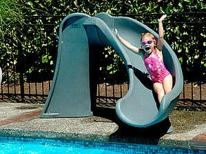 Can you add a slide to an existing swimming pool