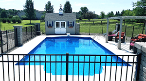 Pool Install Fencing