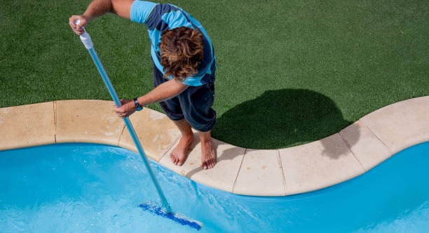 Swimming pool maintenance schedule