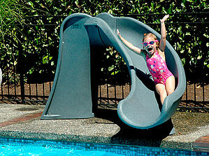 swimming pools slides for sale