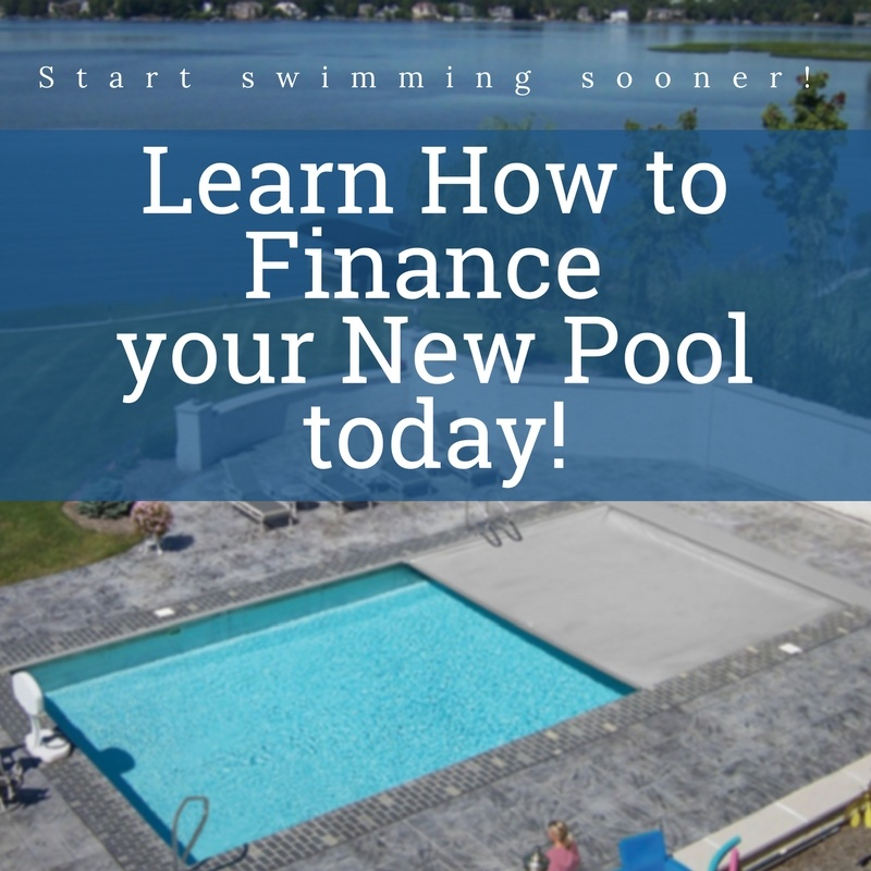 Financing Options for Your New Pool!