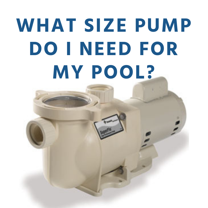 What Size Pump Should I Get For My Pool