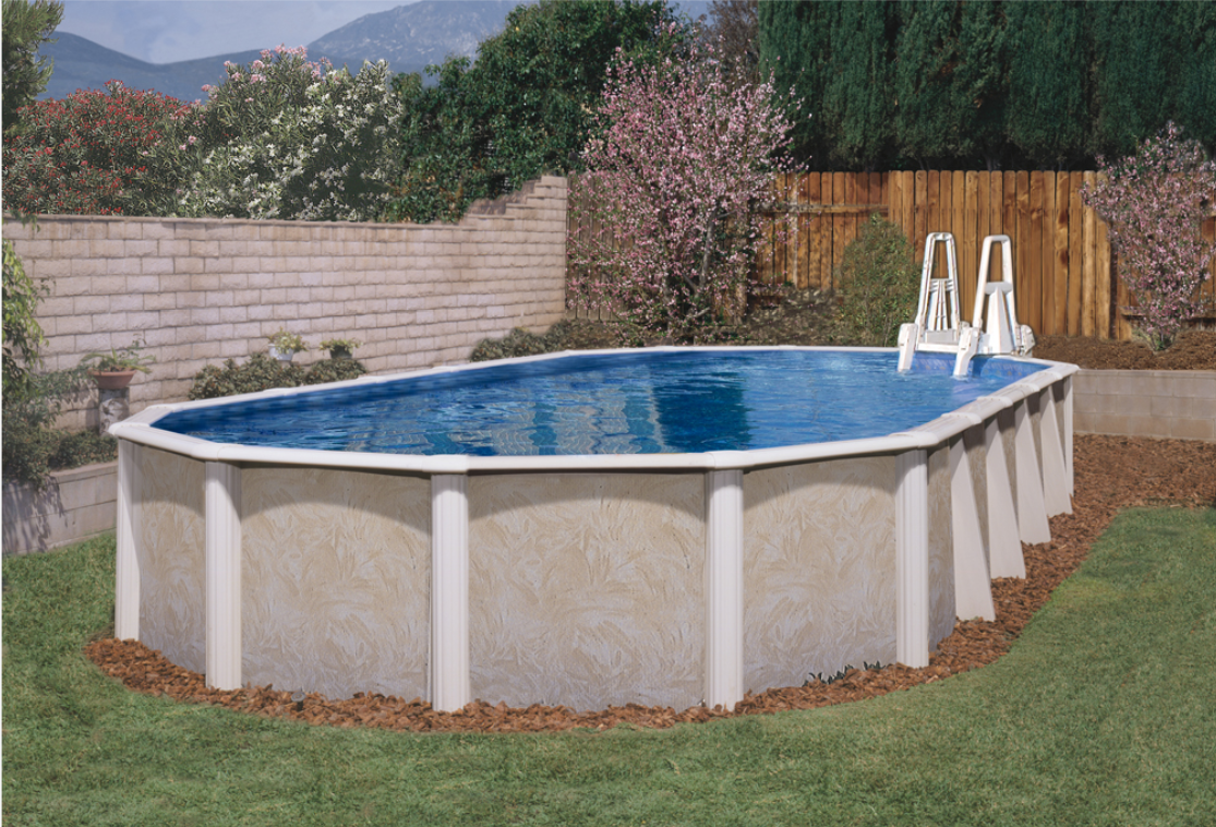 Oval Pools: To Buttress or Not to Buttress, That is the Question.